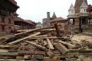 Le riche héritage culturel du Népal réduit en miettes