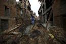 Katmandou pourrait avoir bougé de quelques mètres