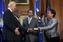 Loretta Lynch prête serment comme ministre américaine de la Justice