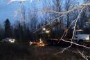 Rails abîmés à Lac-Mégantic: des travaux effectués en soirée