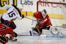 Les Flames ne sont pas intimidés par les Ducks