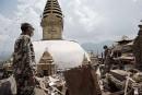 Dormir avec Bouddha au Népal pour empêcher les vols