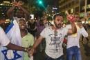 Heurts entre la police et desisraéliens éthiopiens àTel-Aviv