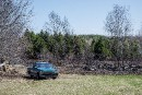 Feu de broussailles à Maricourt: la victime a été prise au piège