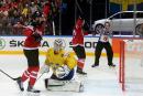 Mondial de hockey: le Canada renverse la Suède