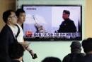 Pyongyang n'a pas tiré de missile balistique, selon le Pentagone