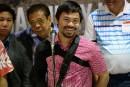 Pacquiao retourne en héros aux Philippines