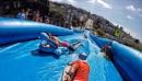 Slide the City à Sherbrooke : une glissade d'eau de 365 mètres dans la côte King