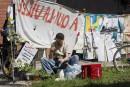 Camp au centre-ville: Coderre peu enthousiaste à l'idée