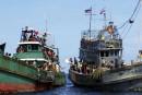 Plus de 700 migrants secourus près des côtes indonésiennes