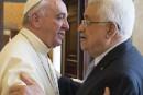 Le pape qualifie le président palestinien d'«ange de la paix»