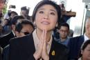 L'ex-PM thaïlandaise Yingluck Shinawatra: «Je suis innocente»