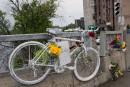 Le vélo à la mémoire de Déliska a été retiré