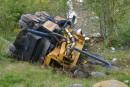 Accident mortel dans un lit d'arrêt de Charlevoix: les glissières ont servi de «tremplin»