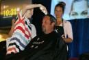 Le défi têtes rasées de Leucan vise un record Guinness