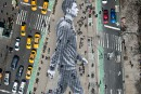 New York, galerie à ciel ouvert