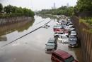 Houston: les pires inondations en 10 ans