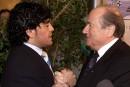 FIFA: pour Maradona, Blatter doit rendre des comptes