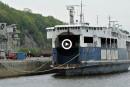Le<i>Fundy Paradise</i>amarré auport de Québec depuis... cinq ans