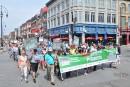 Marche pour les victimes de la pyrrhotite: «On a réussi notre défi»
