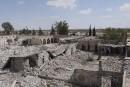L'EI détruit la prison de Palmyre, symbole du régime syrien