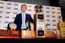 Connor McDavid rafle les grands honneurs au gala de la Ligue canadienne