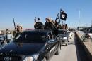 L'EI poursuit son avancée en Syrie