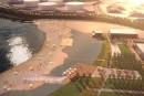 Baie de Beauport: premières images de la prochaine plage