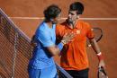 Novak Djokovic fait tomber Rafael Nadal