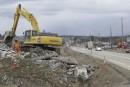 Boulevard Industriel: construction du carrefour giratoire jusqu'à la fin août