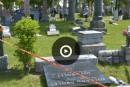 Le cimetière Saint-Charles vandalisé
