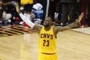 LeBron James marque 40 points dans une victoire des Cavs