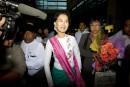 Visite «historique» d'Aung San Suu Kyi en Chine
