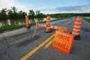 Inondations: plusieurs routes fermées