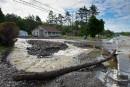 Inondations: Coaticook et Compton demandent l'aide de la sécurité civile