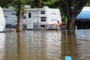 Camping de l'Île-Marie: «Nous avons pu sortir une quinzaine de roulottes»