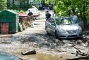 Inondations à Coaticook: des travaux jusqu'à la fin juillet