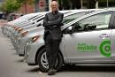 Le libre-service Communauto implanté par étape à Québec