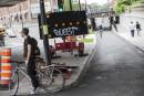 Piste cyclable du boulevard Saint-Laurent: grogne et retard de six mois