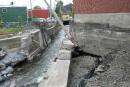 Les travaux au ruisseau Pratt commencent enfin