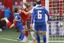Mondial féminin: l'Allemagne blanchit la Thaïlande 4-0