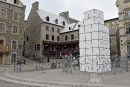 L'auteur du «cube blanc» menace de poursuivre la Ville de Québec