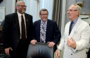 Conseil d'agglomération: le trio réuni pour la première fois depuis des années