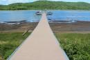 Le niveau de la rivière Saint-Maurice inquiète