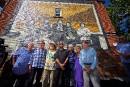 À peine inaugurée, la murale de Beau Dommage a été vandalisée