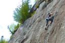 Balade verticale à Val-David