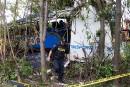Accident d'autocar en Ontario: une femme lutte pour sa vie