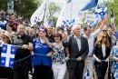 Plusieurs politiciens célèbrent le Québec au défilé de la Saint-Jean à Montréal<strong></strong>