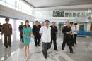 Un terminal international flambant neuf pourl'aéroport de Pyongyang