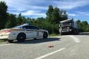 Accident sur la route 112: un décès confirmé